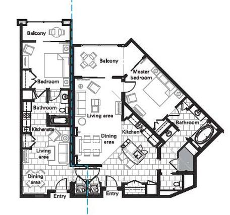 Villa Floor Plans on 1 bedroom floor plans